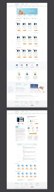 Дизайн интернет-магазина Dobrotime
