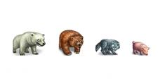 Пиксель арт, животные, ресурсы
