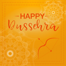 Карточка на тему индийского праздника.