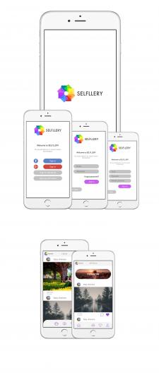 Selfllery iOS concept