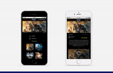 Mobile app design for iphone 6