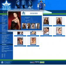 Сайт модельного агентства Star-modelgroup