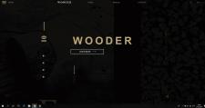 Верстка макета Wooder с применением JavaScript