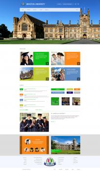 Theme for university