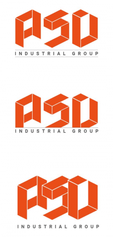 Варианты лого для предприятия ASD