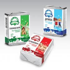 Серия упаковок  для сырков