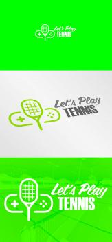 Логотип для тенісного клубу