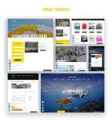 """Search Tours Platform """"Onai Travel"""""""