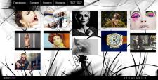 Сайт-портфолио для фотографов