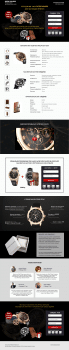 Patek Philipp watch Landing Page