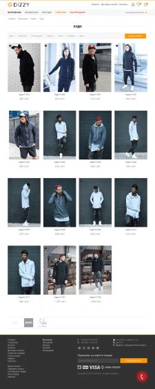 Наполнение интернет магазина одежды (joomla)