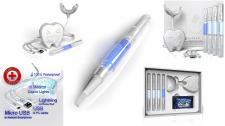Teeth Whitening Kit with LED Light.