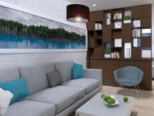 Дизайн квартиры Вроцлав1