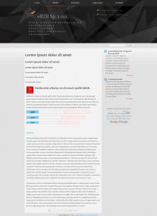 Разработка дизайна для портала web 2.0. Минимализм!!!