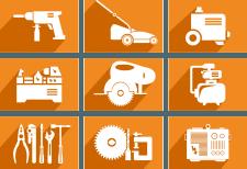 """Іконки для інтернет магазину """"toolshop"""""""
