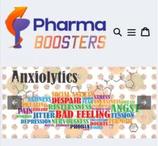 Shopify AMP шаблон магазина PharmaBoosters