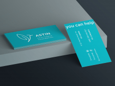 Дизайн визитки | ASTIN