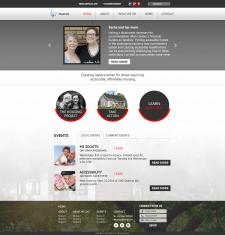 Корпоративный сайт благотворительного фонда