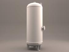 3D Industrial Tank Air