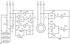 Электрическая схема автоматизированного калорифера