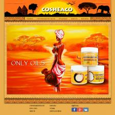 Сайт для производителя масла