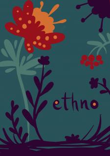 Этно-открытка ( 1 из 3 )