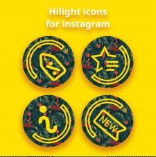 N-BEACH   иконки для instagram