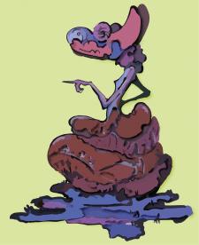 Mashroom Lady