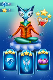 иллюстрация (дизайн персонажа, UI)