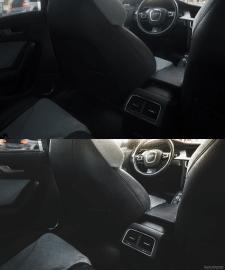 обработка фото автомобильного интерьера