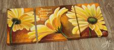"""Картина маслом """"Жолтые цветы"""""""