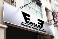 """Вывеска для магазина + логотип """"Firma7"""""""