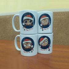Разработка иллюстраций для подарочных чашек