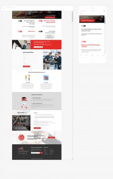 Верстка адаптивной страницы для сайта (кликайте)