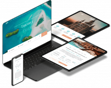 Дизайн и разработка сайта Zefir