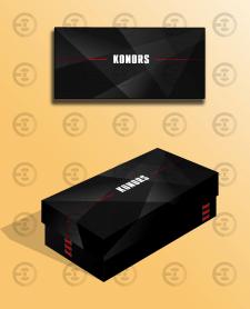 Дизайн коробки для обуви