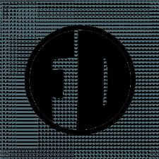 Чёрно-белый логотип команды