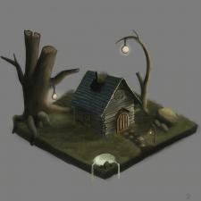 Изометрический домик