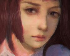 Растровая иллюстрация под живопись
