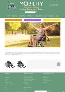 Разработка сайта для мед компании на WordPress