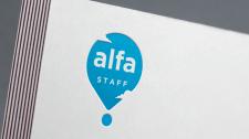 "Логотип для компании ""Alfa Staff"""