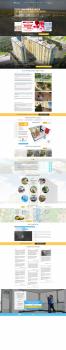 создание посадочной страницы по продажам квартир