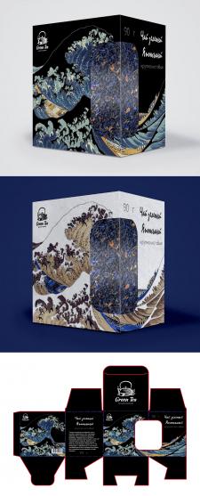 Создание дизайна упаковки чая