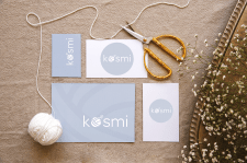 Лого для мастерской вязанных игрушек Kosmi
