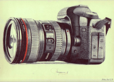 Рисунок фотоаппарата