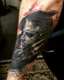 Тату логан tattoo Logan