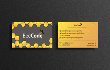 Визитка BeeCode