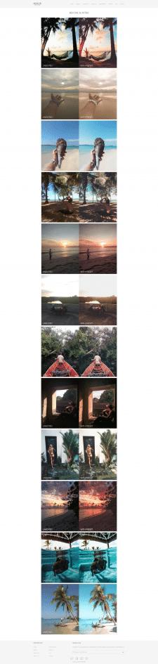Галарея для фото сайта