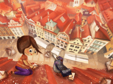 Іллюстрація до дитячої книги