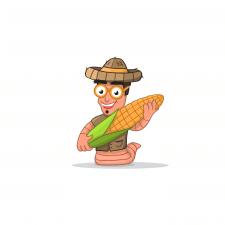 Персонаж червяка